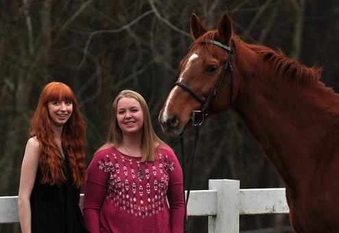 Amanda, Kelsey, and Audio